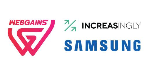 Increasingly & Webgains – Samsung AI Driven Promos